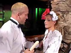 Сексуальная невеста соблазнила свидетеля