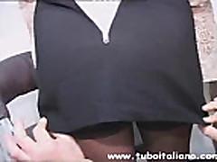 Zhestko ottrahannaja mamochka iz Italii